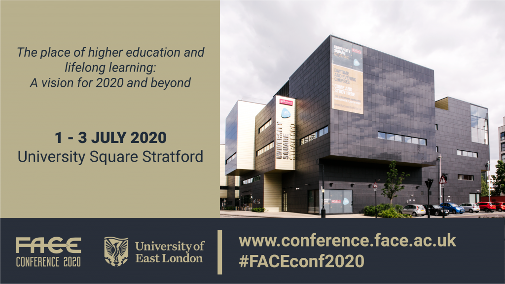 Important announcement regarding the 2020 FACE conference
